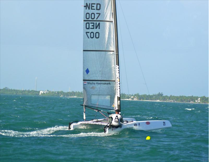 99cd182dfe A-Class: Mischa Heemskerk World Champion 2012 | Catamaran Racing, News &  Design